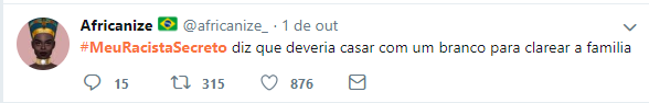 #MeuRacistaSecreto5